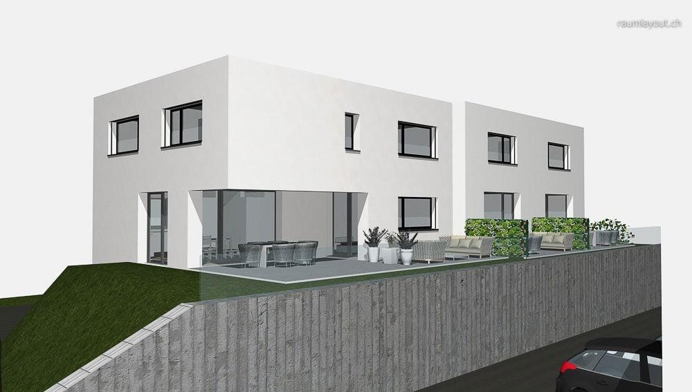 visualisierung konzept pz · raumlayout gmbh · architektur, Innenarchitektur ideen