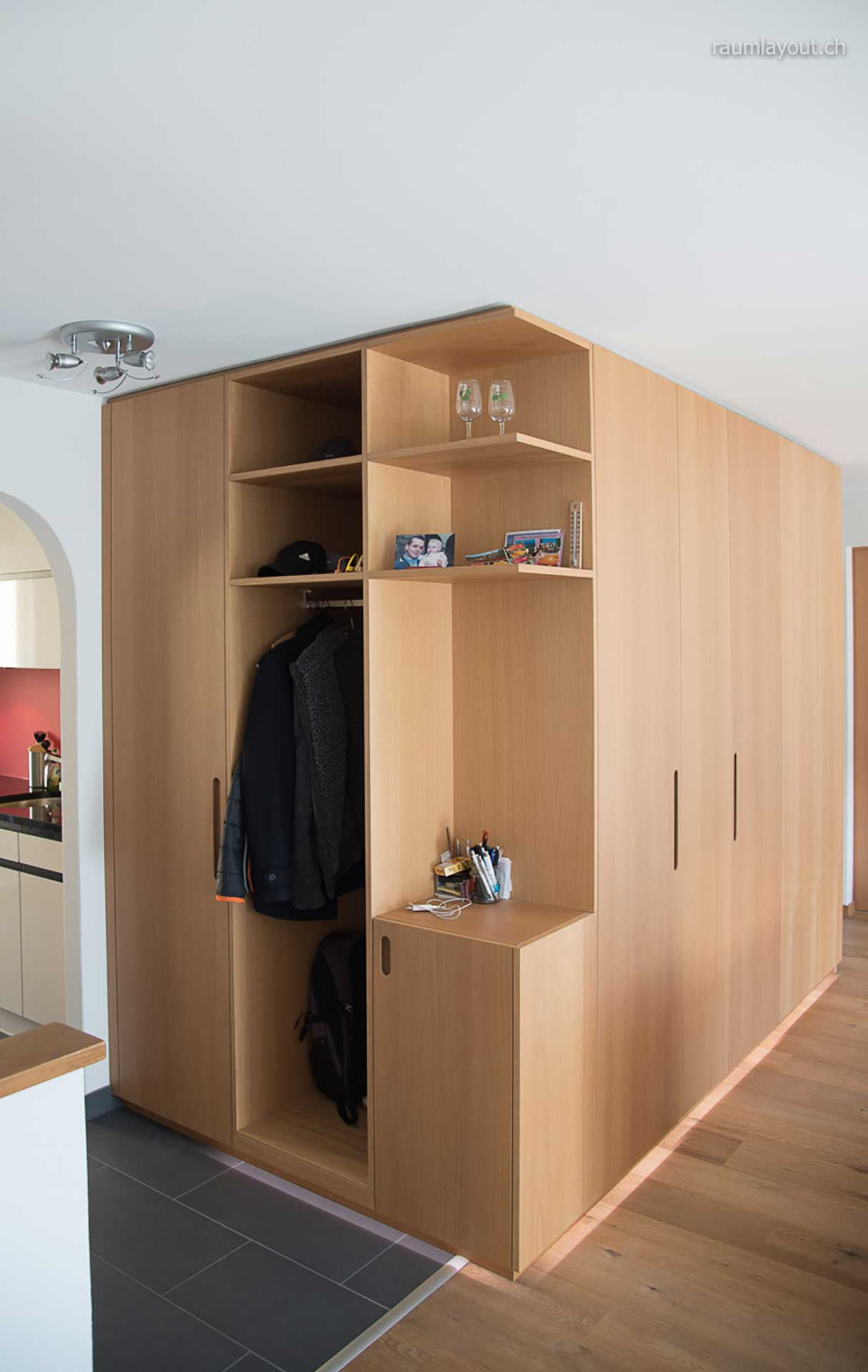 wohnungsumbau bärtschi, visp · raumlayout gmbh · architektur, Innenarchitektur ideen